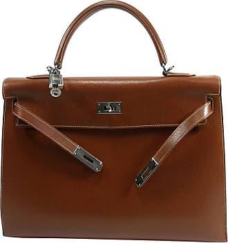 b0fd7b5b6fc6 Hermès Kelly Bag 2   35 Cm Sellier Leather Grainé Brown 2003   Good  Condition