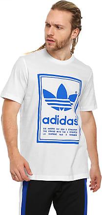 adidas Originals Camiseta adidas Originals Vintage Branca
