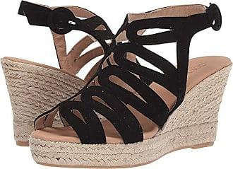Cordani Ezra (Black Suede) Womens Wedge Shoes
