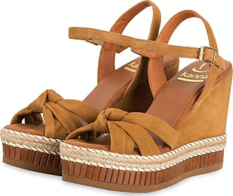 Kanna Wedges - COGNAC