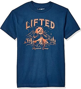 LRG Mens Lifted Research Collection Graphic Design T-Shirt T-Shirt
