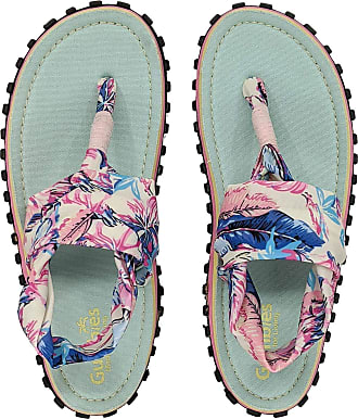 Gumbies Slingback Sandals (Mint/Pink, Numeric_7)