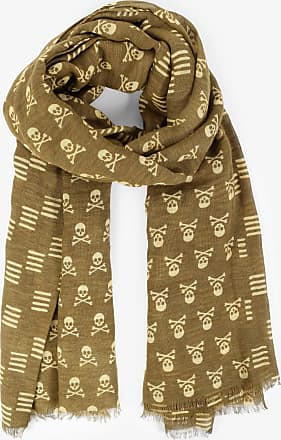 Scalpers Scarf With All-Over Skull Print