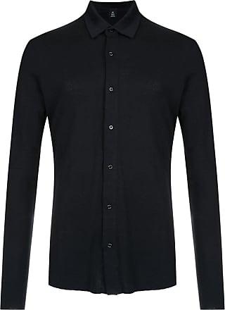 Osklen slim-fit shirt - Black