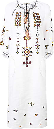 Vita Kin Vestido longo estampado - Branco
