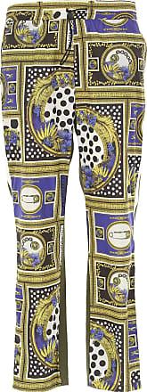 Versace Weite Hose aus Wollgemisch für Herren | AT Online