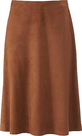 Uta Raasch Skirt in faux suede Uta Raasch brown