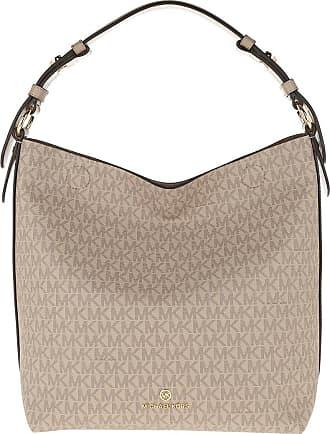 Michael Kors Lucy Medium Hobo Bag Truffle