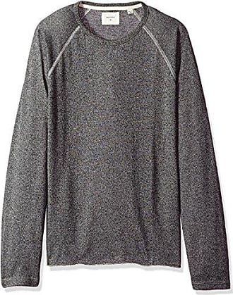 Billy Reid Mens Raglan Long Sleeve Indian Crew Neck T-Shirt