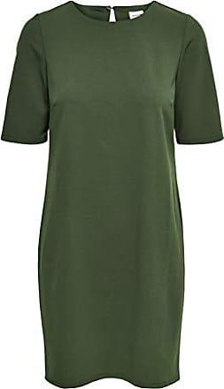 Only Damen Cocktailkleid Abendkleid Neckholder Kleid Plissee Color Mix NEU