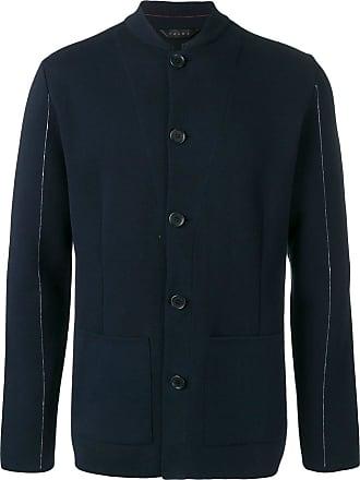 Falke button-up jacket - Blue