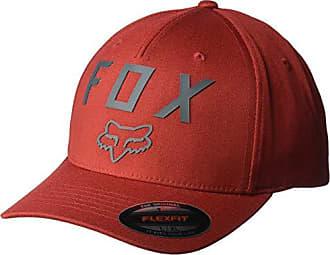 Fox Mens Number 2 Flexfit HAT, Bordeaux, L/XL