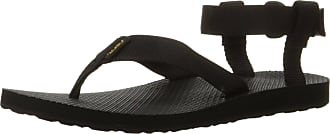 Teva Womens Original Sandal, Sports and Outdoor Lifestyle Sandal, Black, 7 UK (40 EU)