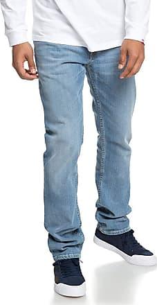 DC Shoes Worker Light Bleach - Straight Fit Jeans for Men - Men