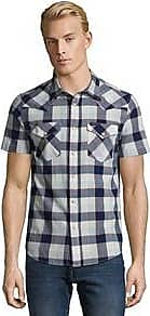 Camicia da Uomo a Quadretti Back River Grigio Scuro