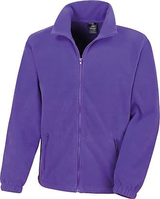 Result Core Fashion Fit Outdoor Fleece Colour=Purple Size=S