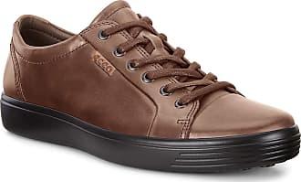 Ecco Ecco Soft 7 Tie, Mens Low-Top Sneakers Trainers, Braun (Cocoa Brown 2482), 9-9.5 UK (43 EU)