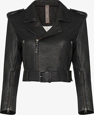 Lot Lthr Womens Black Lola Leather Biker Jacket