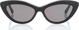 Stella McCartney Chain-trimmed cat-eye sunglasses