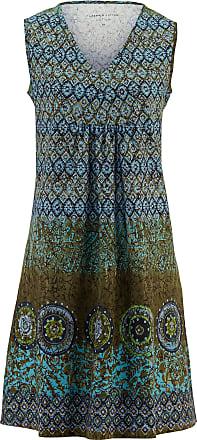 Peter Hahn Ärmlös klänning från Green Cotton turkos c07842c613bb3