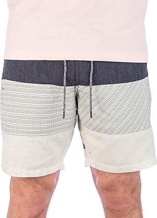 Volcom Herren Kurze Hose Flare Short 18 Short Herren Kurze Hose Grau