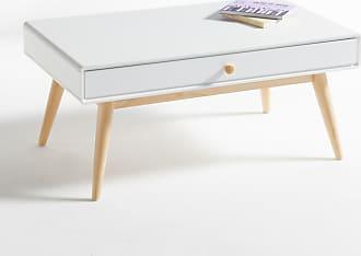La Redoute Interieurs Couchtisch Jimi mit 1 Schublade und 1 Fach - WEISS - LA REDOUTE INTERIEURS