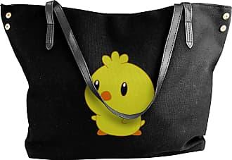 Juju A Cute Chic Chick Womens Classic Shoulder Portable Big Tote Handbag Work Canvas Bags