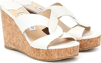 Jimmy Choo London Wedge-Sandalen Atia 100 aus Leder