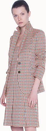 Akris Multicolor Blazer with Cotton Jacquard