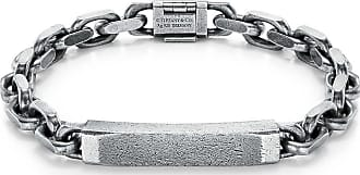 Tiffany & Co. Tiffany 1837 Makers heritage edition ID chain bracelet in silver, medium