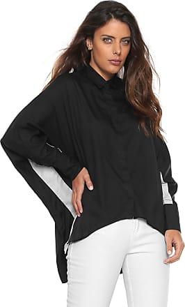 Calvin Klein Jeans Camisa Calvin Klein Jeans Raglan Bicolor Preta Branca 4937f6d4b6
