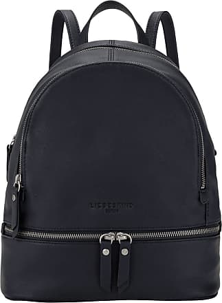 Liebeskind Womens Bos - Alita Backpack Medium Carry-On Luggage, Blue (Navy Blue), 11x38.5x34.1 Centimeters (B x H x T)
