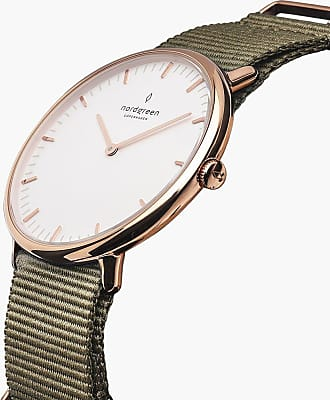 Nordgreen Native - Rose Gold | Nylon Bohème - 40mm / Rose Gold