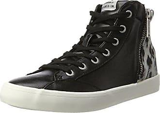 Pepe Jeans London London Clinton Sue, Baskets Hautes Femme, Noir (Black), 4edc70b649e7