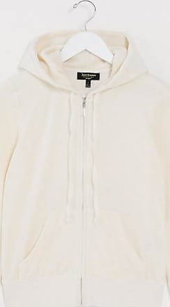 Juicy Couture Black Label Juicy Heart Velour Robertson co-ord Jacket in beige