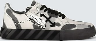 Off-white Sneakers Low Vulcanized aus Canvas