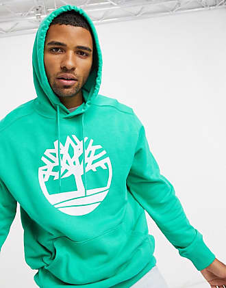 Timberland Core Logo Tree hoodie in green