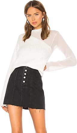 Rta Franny Turtleneck Sweater in White