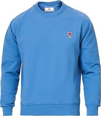 Ami Heart Logo Sweatshirt Blue