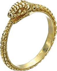 Zoe & Morgan Gold Eternity Snake Ring - SMALL - Gold