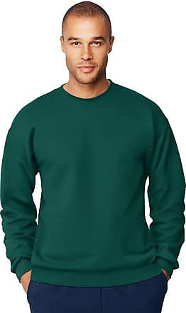 Hanes Mens Ultimate Cotton Heavyweight Crewneck Sweatshirt