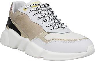 222eb57643ad Serafini Baskets   Tennis mode SERAFINI Oregon cuir Femme Or