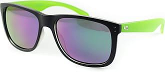 HB Óculos de Sol Hb Ozzie Matte Black/Lucky Green l Green Chrome