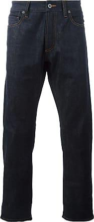 Natural Selection Calça jeans reta - Azul