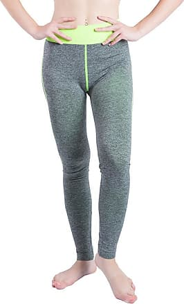 FNKDOR Mid Season Clearance Women Gym Close-fitting Elasticity Yoga Jogging Patchwork Sports Running Fitness Leggings Pants Athletic Trouser(W1Green2,L)