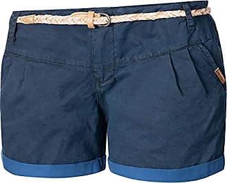 41f7fdf9b86ed Ragwear Damen Kurze Hose Bermuda Shorts Hotpants Sommerhose Heaven B Blau  Gr. 31
