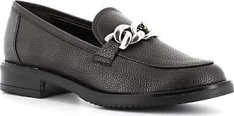 Generico Made in Italy Moccasin with Chain - Black Black Size: 7 UK