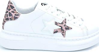 2Star sneaker donna con logo e dettaglio animaliere - 39 - bianco