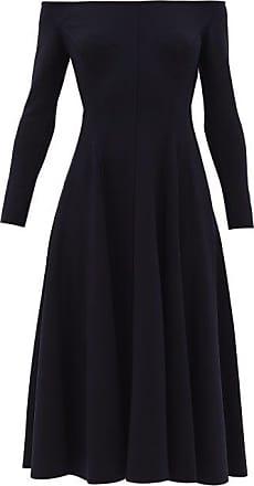 Norma Kamali Grace Off-the-shoulder Jersey Dress - Womens - Navy