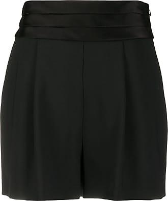 Diane Von Fürstenberg Short cintura alta - Preto